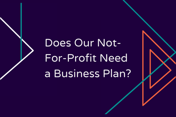 Does our not-for-profit need a business plan?