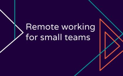 Remote working for small teams
