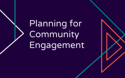 Planning for Community Engagement